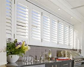 shutters perfect for kitchen